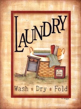 Laundry Fine Art Print By Lisa Kennedy At Urbanloftart Com