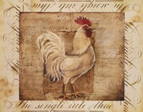 Rustic Farmhouse Rooster I