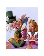 Alice and The Mad Hatter - Celebration in Wonderland