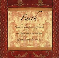 Words to Live By, Traditional - FAITH