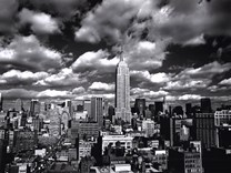 New York, New York, Sky Over Manhattan