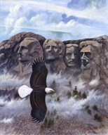 Eagle - Mount Rushmore