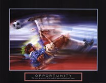 Opportunity-Soccer  Fine-Art Print