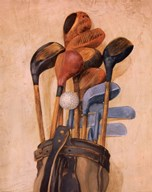 Golf Bag With One Ball