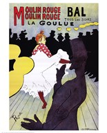 La Goulue at the Moulin Rouge
