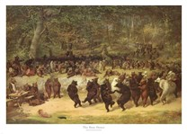 The Bear Dance, c.1870