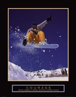 Courage - Snowboarder