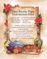 Happy Marriage Recipe (Spanish)