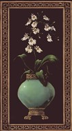 Ginger Jar With Orchids I
