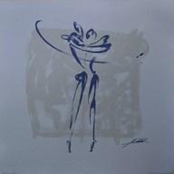 Body Language XI (silver)  Fine-Art Print