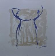 Body Language XII (silver)  Fine-Art Print
