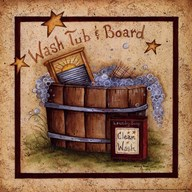 Wash Tub & Board