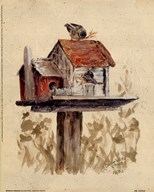 Birdhouse Collection I
