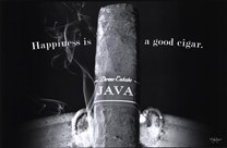 Happiness is a Good Cigar