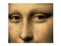 Mona Lisa, Face Detail