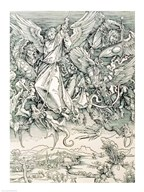 St. Michael Battling with the Dragon from the 'Apocalypse'