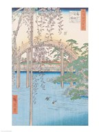 The Bridge with Wisteria or Kameido Tenjin Keidai