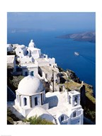 Santorini, Thira (Fira), Cyclades Islands, Greece