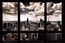 New York Window  Fine-Art Print
