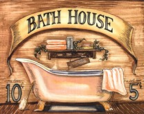 Bath House  Fine-Art Print