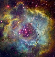 Rosette nebula (NGC 2244) in Monoceros  Fine-Art Print