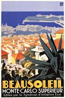 Beausoleil-Monte Carlo Superieur Fine-Art Print