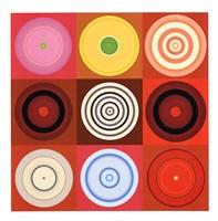 Red Circles Fine-Art Print