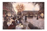 Paris in the Evening Fine-Art Print