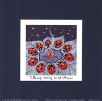 Telling Scary Bird Stories Fine-Art Print