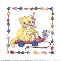 Cat Pull Toy Fine-Art Print