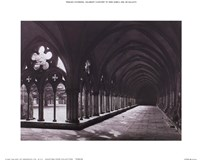 Eng. Cathedral Salisbury Cloisters Fine-Art Print
