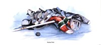 Hockey Puck Fine-Art Print