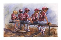 Girls to Bat Fine-Art Print
