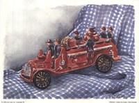 Faithful Fire Engine Fine-Art Print