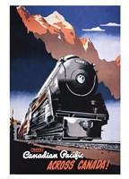 Canadian Pacific Train 1930 Fine-Art Print