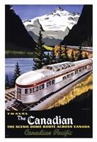 Canadian Pacific Train 1955 Fine-Art Print