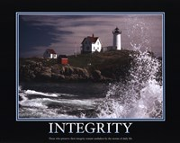 Motivational - Integrity Fine-Art Print