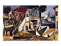 Paysage Mediterraneen Fine-Art Print