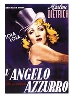 L'angelo Azzurro Fine-Art Print