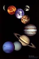 NASA - Solar System Wall Poster