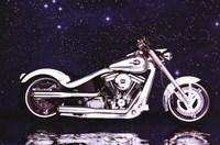Motorcycle - Radical Custom Big Twin Sof Fine-Art Print