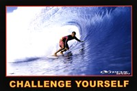 Challenge Yourself - Extreme Sport Wall Poster
