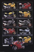 Motorcycle-Ducati Wall Poster