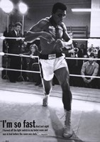 Mohammed Ali Training Fine-Art Print