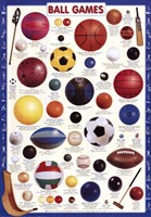 Ball Games Wall Poster