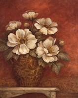 Villa Flora Peonies Fine-Art Print