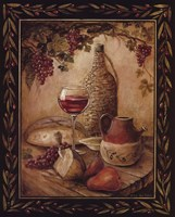 Tuscan Table - Chianti Fine-Art Print