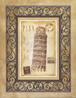 Pisa Postcard Fine-Art Print