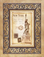 New York Postcard Fine-Art Print