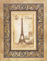 Paris Postcard Fine-Art Print